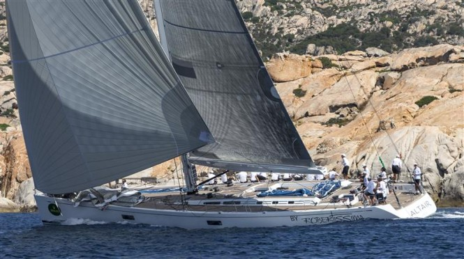 Sailing yacht Altair - Leader after Day 4