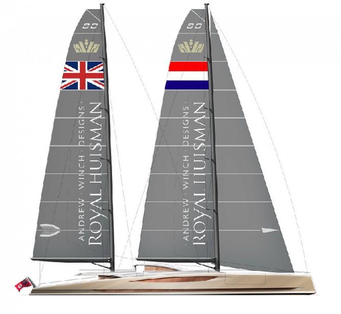 Sailing yacht DART