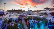Spectacular evening organised by Princess Yachts and Purobeach at the 2013 Cannes Boat Show