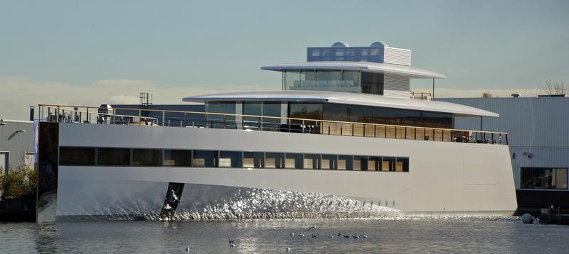 Steve Jobs 39 Superyacht Venus Yacht Charter Superyacht News