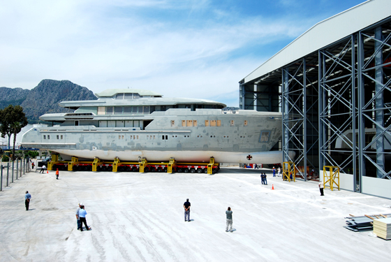 Sunrise Two, the new Sunrise megayacht facility for projects up to 70-metres