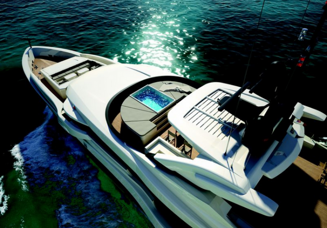 Super Yacht Project M50 S by Mondo Marine and Luca Dini Design