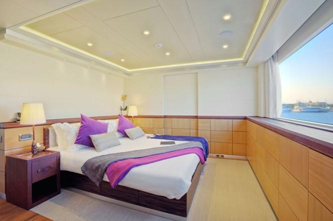 Superyacht Quaranta - Cabin