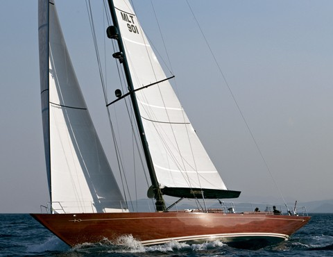 Tempus 90 superyacht Tempus Fugit designed by Humphreys Yacht Design