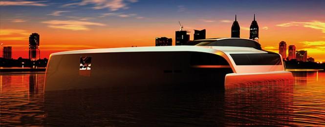 Trimaran 210 Yacht Concept