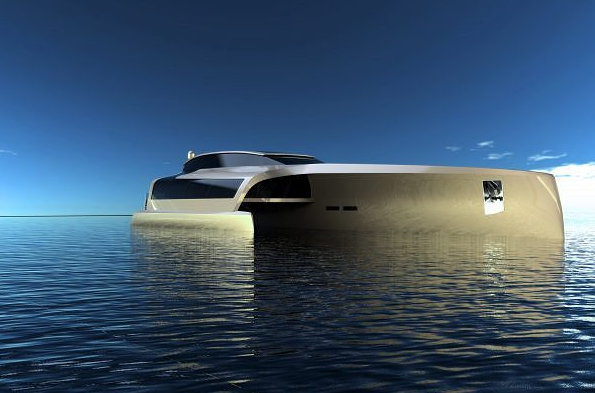Trimaran 210 Yacht Concept by Sunreef Yachts