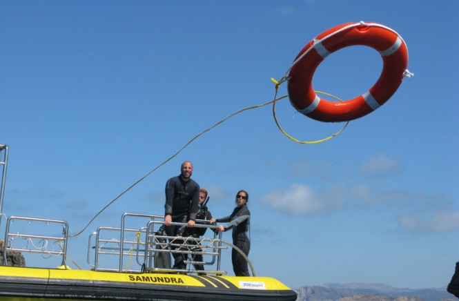 Yacht Scuba Safety