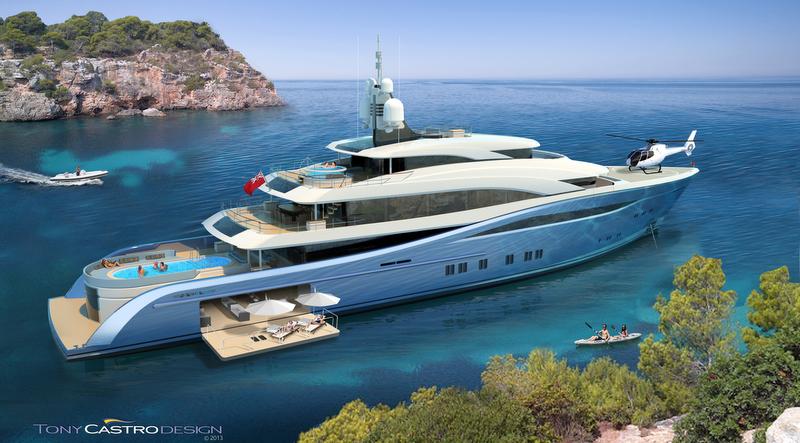 Castro Yacht 65m Tony Castro Yacht Project