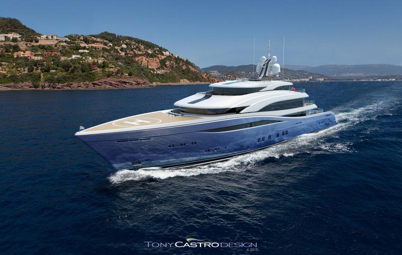 Castro Yacht 65m Tony Castro Mega Yacht