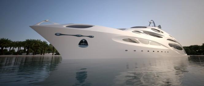 90m Project JAZZ Yacht