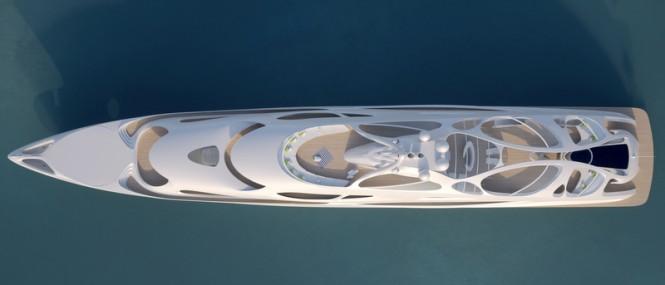 90m superyacht Project JAZZ - upview