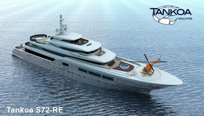Tankoa S72 Yacht presented at MYS 2013