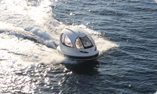 2014 Jet Capsule superyacht tender by Lazzarini Design