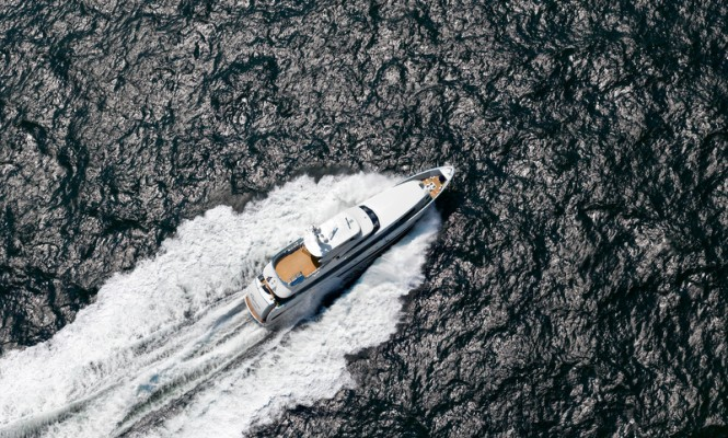 35m superyacht Galactica Plus Photo Credit Dick Holthuis