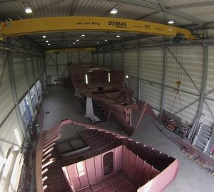 Graafship to complete hull of 37m sailing yacht WOLFHOUND before second quarter of 2014