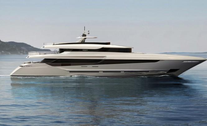 42m superyacht Oceano 42 by Mangusta Overmarine Group