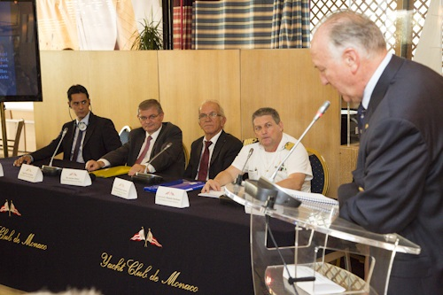 Captains' Forum organised by Yacht Club de Monaco during the MYS 2013