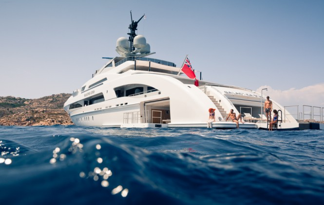Heesen Yachts GALACTICA STAR superyacht - Photo by Jeff Brown