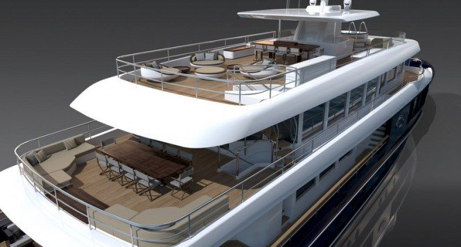 Filante 42 Yacht - Decks