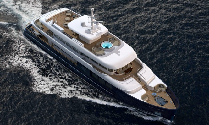 Filante 42 Yacht - upview