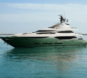 New 41m motor yacht DESIRE launched by Karides Yachts