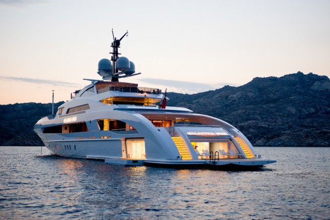 Galactica Star yacht by Heesen Yacht - Photo Jeff Brown