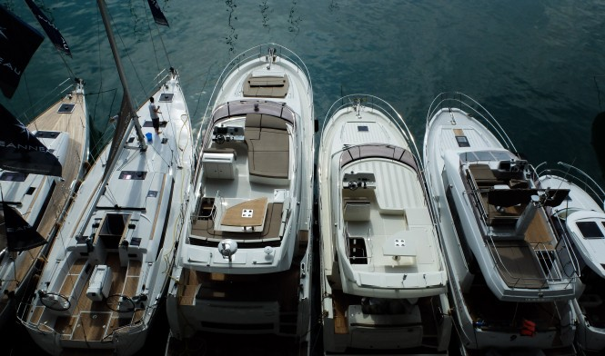 Genoa Boat Show 2013 - Yachts from above