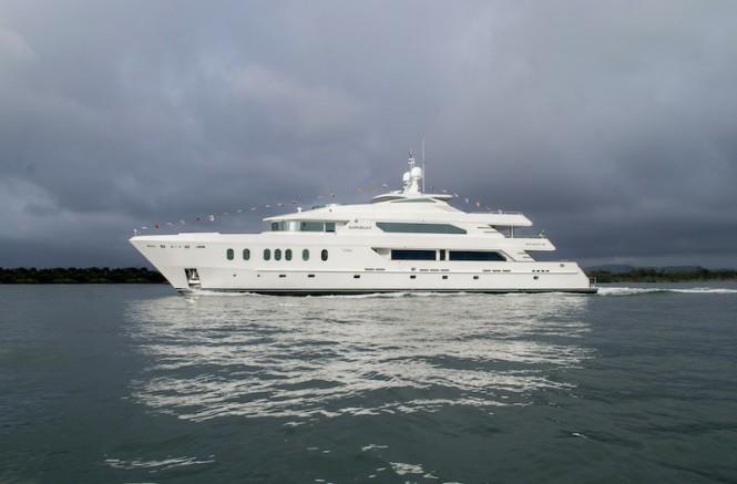 Hemisphere 140 motor yacht RAFFAELLA II