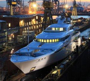 Blohm + Voss launch 82m motor yacht Project GRACEFUL