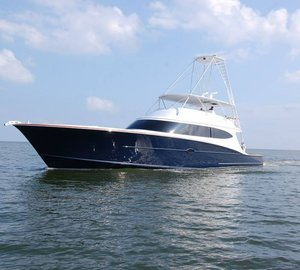 New 84' motor yacht ORION (Project B16) launched by Bayliss Boatworks
