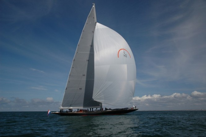 Luxury sailing yacht Rainbow by Holland Jachtbouw and Dykstra Naval Architects