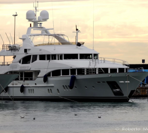 Luxury Motor Yacht HARMONY III at Benetti Shipyard in Livorno