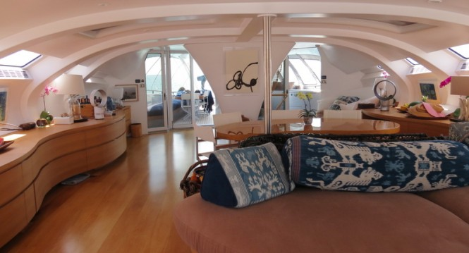 Luxury yacht Adastra - Interior