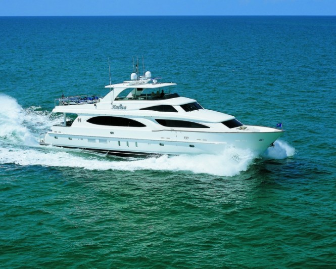 Luxury yacht Katina now motor yacht DA BUBBA
