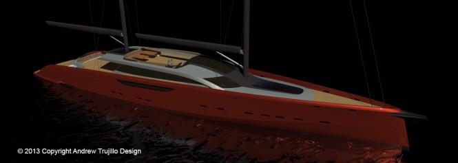 Luxury yacht Serendipity concept