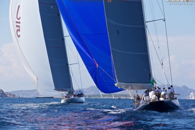 Majestic J-Class Yachts at the 2013 Maxi Yacht Rolex Cup