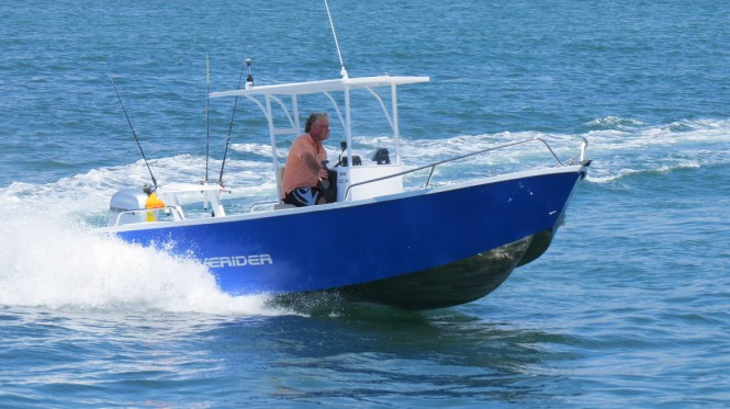 Marine Safety Innovations was the first exhibitor to register for Expo and they will showcase the Waverider 610 from Kapten Boats and Collars