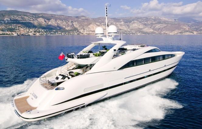 Motor yacht Sealyon (ex Illusion) - ISA 120 Yacht