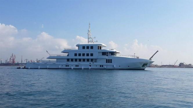 New 55m superyacht Vogue by Orucoglu Shipyard