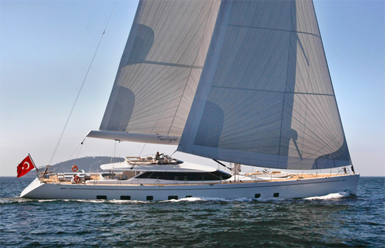 Oyster 125 superyacht Twilight