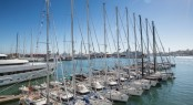 Oyster yachts ready to compete in the 2013 Oyster Regatta Palma