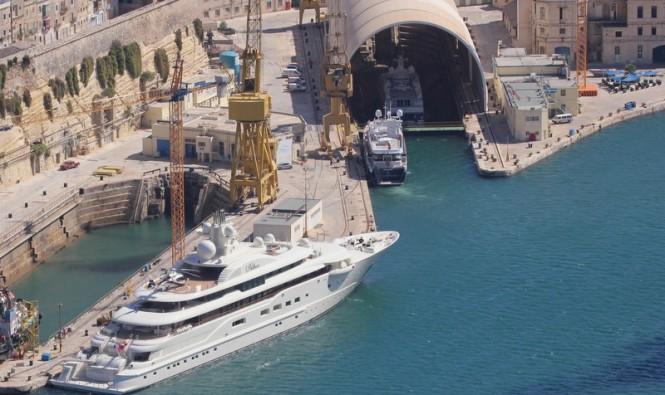 Palumbo Malta Superyachts Facilities