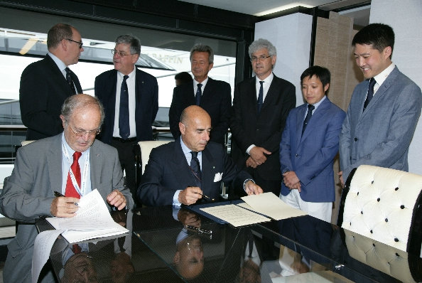 Partnership agreement signed betweem Prince Albert II of Monaco Foundation and RINA