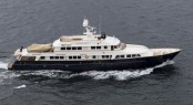 Pendennis-refitted superyacht A2 on Maiden Voyage
