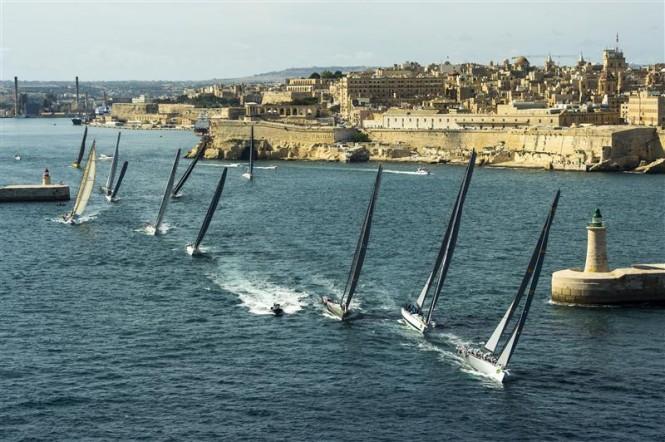 Rolex Middle Sea Race 2013 - Photo by Rolex Kurt Arrigo