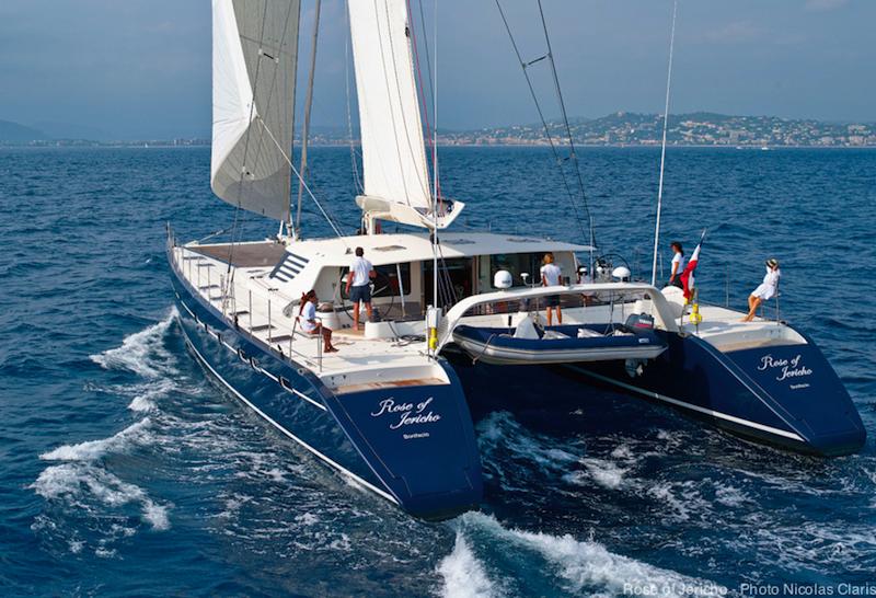 Rose Of Jericho Catamaran Yacht Photo Nicolas Claris