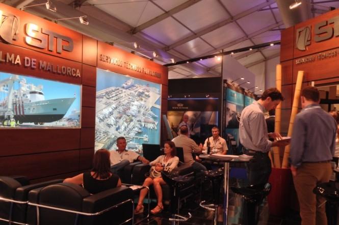 STP Shipyard at the 2013 Monaco Yacht Show