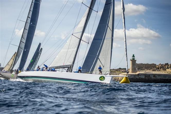 Sailing yacht Morning Glory - Photo by Rolex Rene Rossignaud