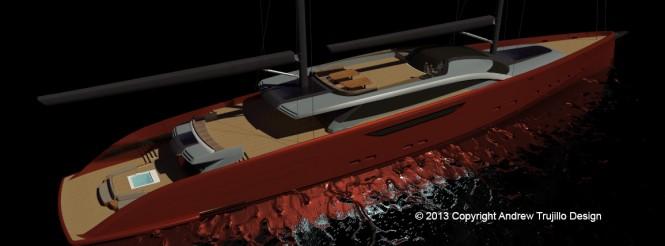 Serendipity superyacht concept - Decks
