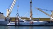 Sevenstar Yacht Transport in action